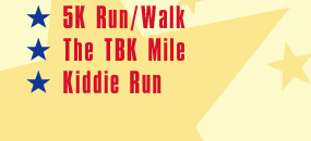 10K, 5K, The Triumph Mile, Kiddie Run