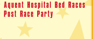 Guns N Hoses, Hospital Bed Races, Post Race Party